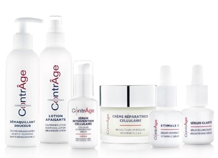 Gamme de soins de la peau adaptée à tous les types de peaux