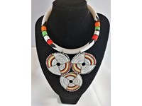 Collier Massai pendant