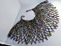 Collier d'épaule massai multicolore